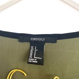 Forever 21 Tops - Forever 21 Olive Green Long Sleeve Top